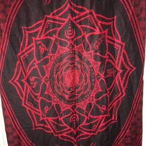 RageNation festival sacred geometry shawl